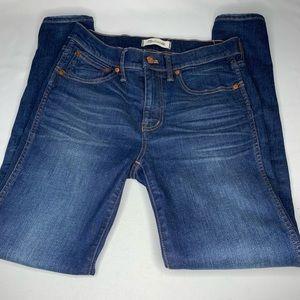 Madewell 9 Inch Skinny Skinny  Jeans Stretch